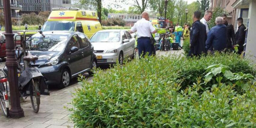 Man op straat in Amsterdam doodgeschoten