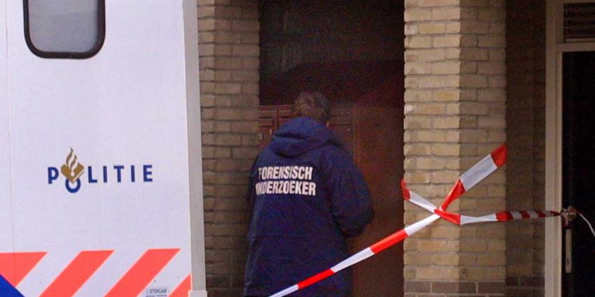Politiepand Rotterdam onder vuur genomen
