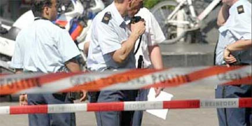 Foto van afzetlinten politie schietpartij | Archief EHF