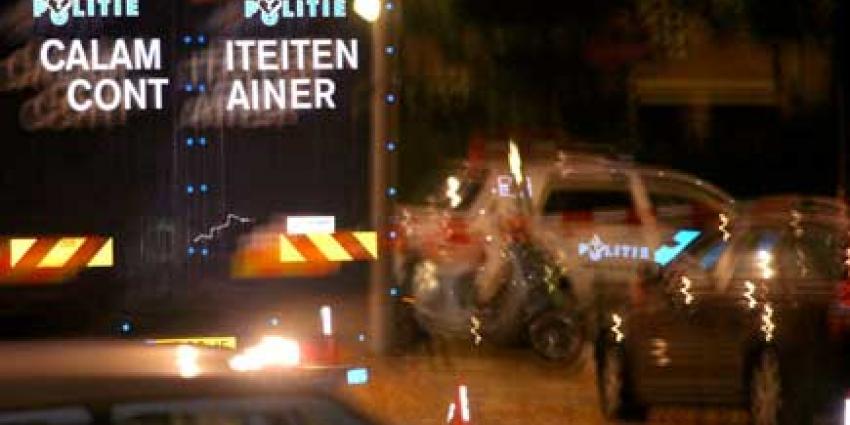Foto van calamiteitencontainer politie | Archief EHF