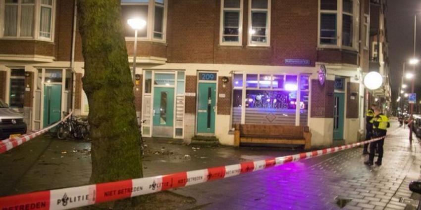 Man gewond bij schietpartij in Rotterdams café