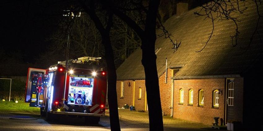 Hevige rookontwikkeling bij woningbrand in Schijndel. Bewoners ter controle naar het ziekenhuis