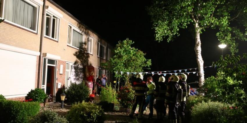 Vrouw ademt rook in bij woningbrand in Schijndel