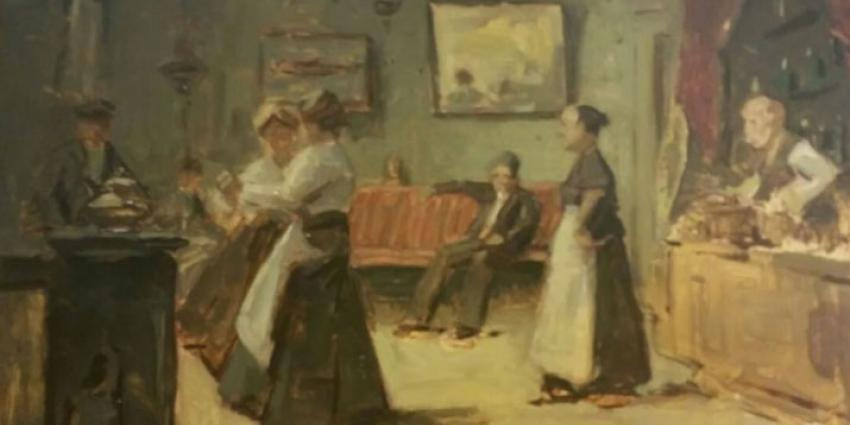 Kostbare schilderijen na 17 jaar teruggevonden in loods Bilthoven