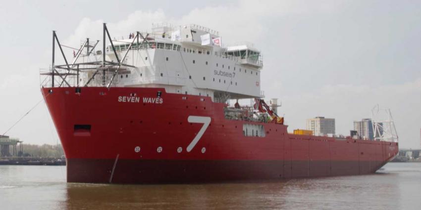 foto van schip te water Sliedrecht | IHC Merwede