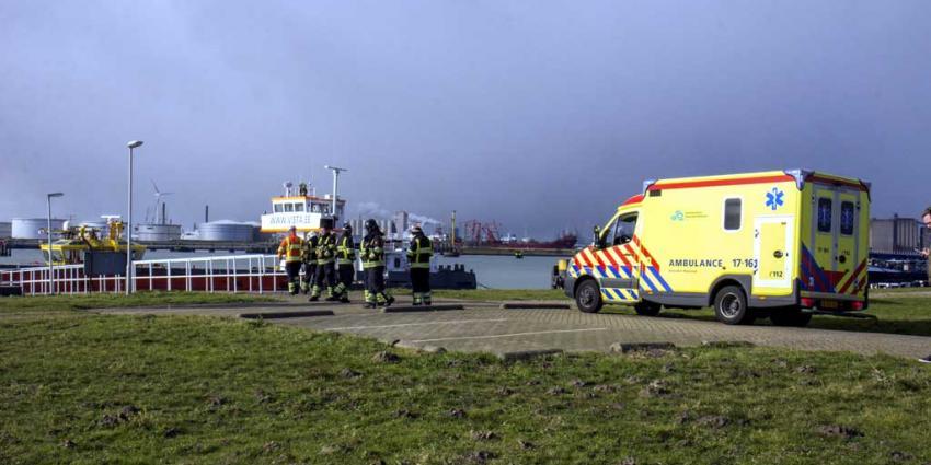 Dodelijk ongeval op schip in Rozenburg