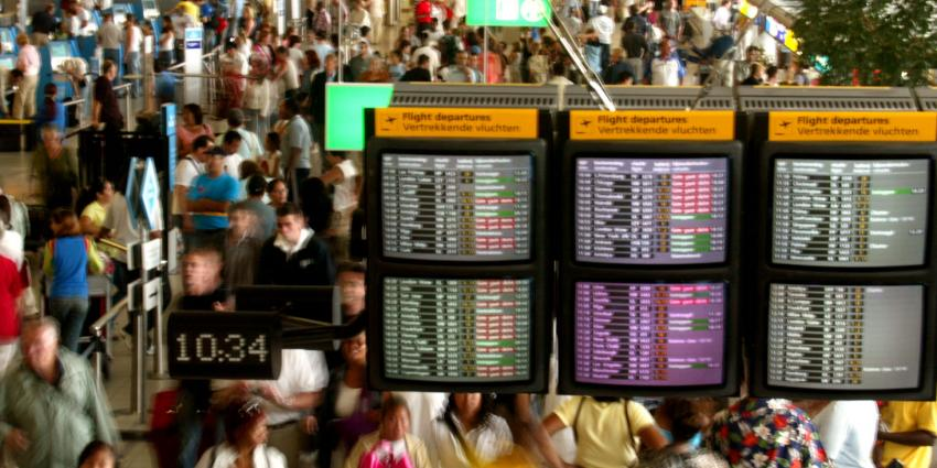 Vrees voor puinhoop op luchthavens