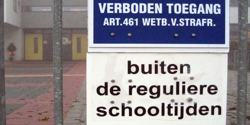 Verwarde man zorgt voor opschudding in en rond Tilburgse school