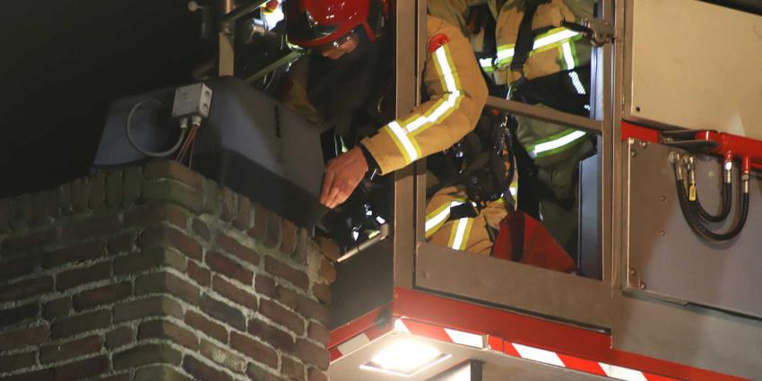 schoorsteenbrand-hoogwerker-brandweer