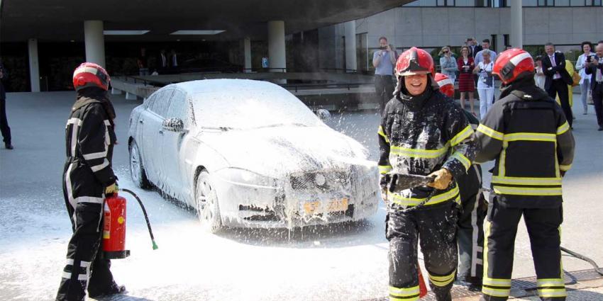 Giftig blusschuim bij Nederlandse brandweer in gebruik