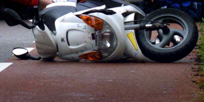 Man overleden na scooterongeluk Rotterdam
