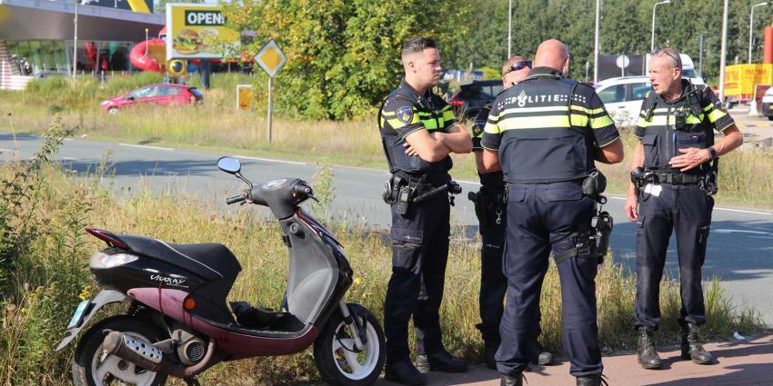 scooter-aanrijding