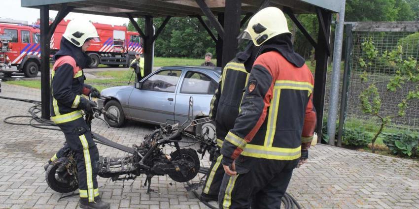 Woningbrand door 'even bijtanken' scooter