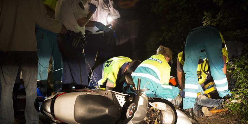 Scooterrijder komt om leven na ongeval Rotterdam