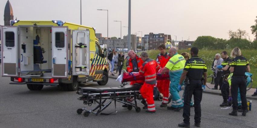 Ernstig eenzijdig ongeval met scooterrijder