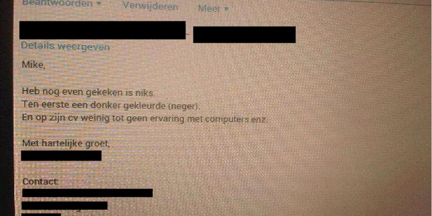Foto van screenshot e-mail Facebook | Facebook