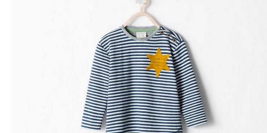 Kindershirt met 'jodenster' door ZARA uit shop gehaald