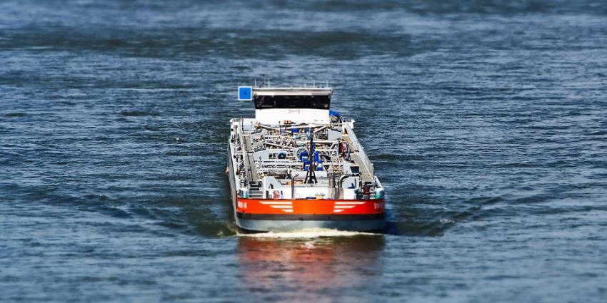 schip, vracht, rijn, water