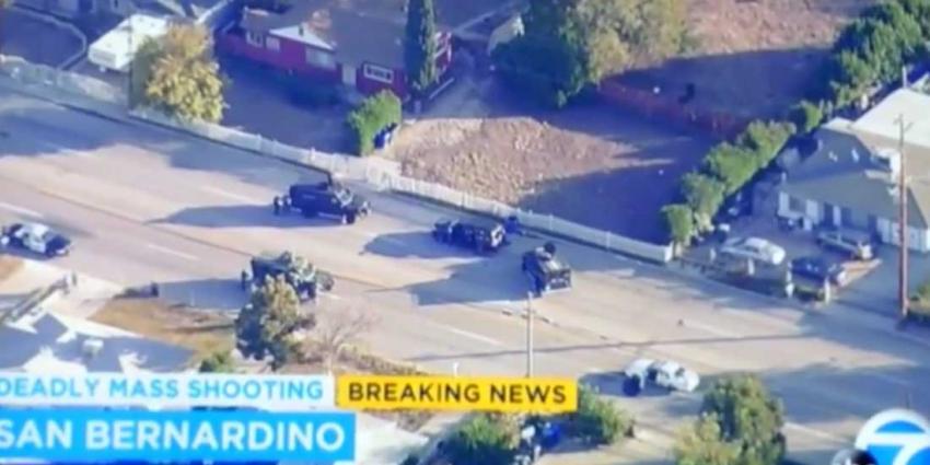 Bloedige schietpartij Californië kost 14 onschuldige levens, twee daders doodgeschoten door politie