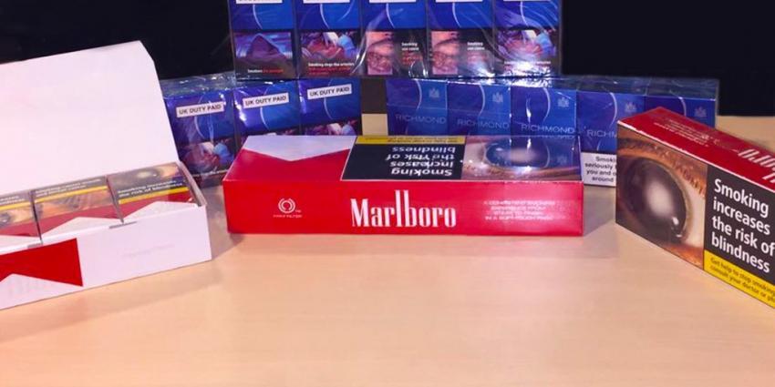 Vijf aanhoudingen voor grote sigarettensmokkel