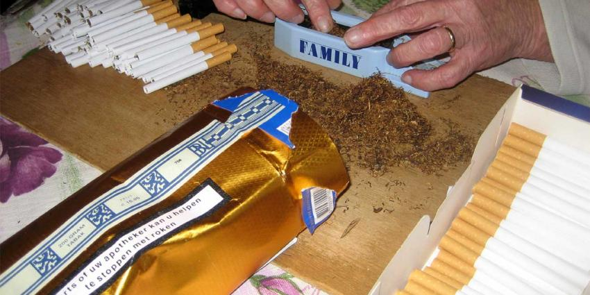 foto van sigaret maken | fbf