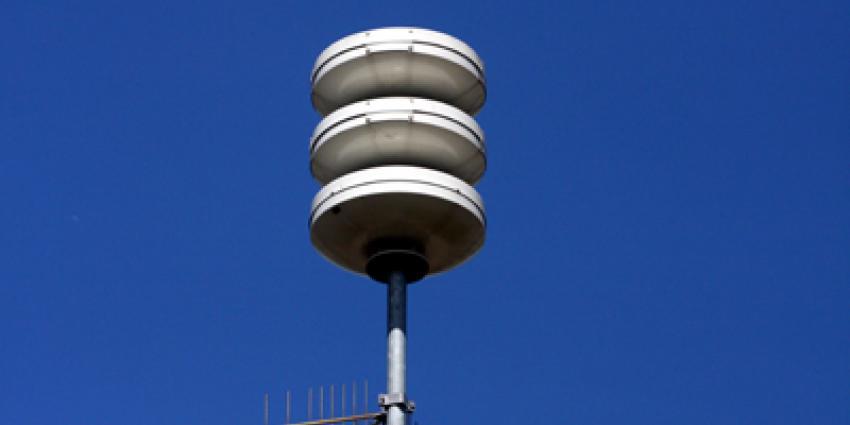Maandelijkse sirenetest 'oorverdovend' stil door storing