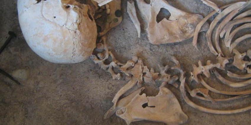 Botresten gevonden bij graafwerkzaamheden in Amsterdam