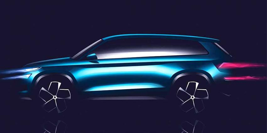 Skoda maakt studiemodel VisionS voor nieuwe SUV