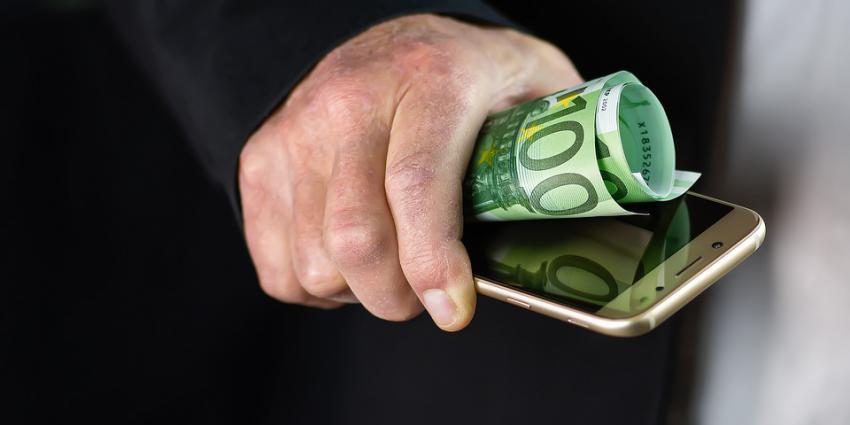 Betalen met smartphone
