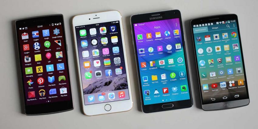 Diversiteit activiteiten op smartphone stijgt