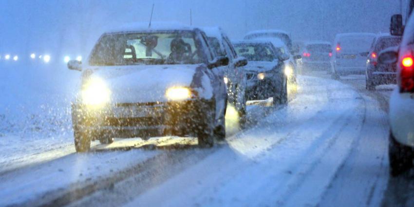 Code Geel: woensdag krijgt Nederland weer te maken met veel sneeuw