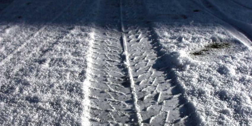 Nederland wordt wakker met een laagje sneeuw
