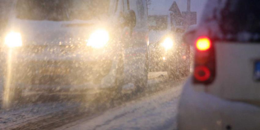 Sneeuw en ijzel in aantocht