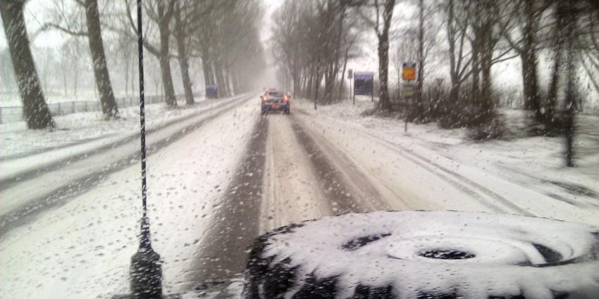 Minder sneeuw, maar KNMI waarschuwt wel voor gladheid