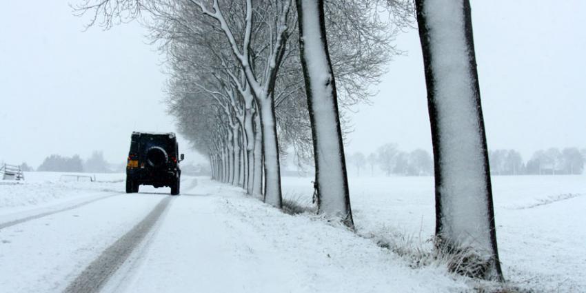 Donderdag regen, sneeuw, kouder en harde wind