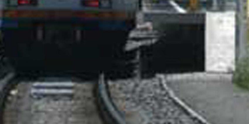 Foto van sneltram perron rails | Archief EHF