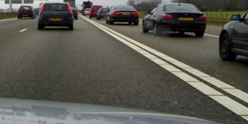 A58 bij Etten-Leur hele ochtend dicht door ongeval