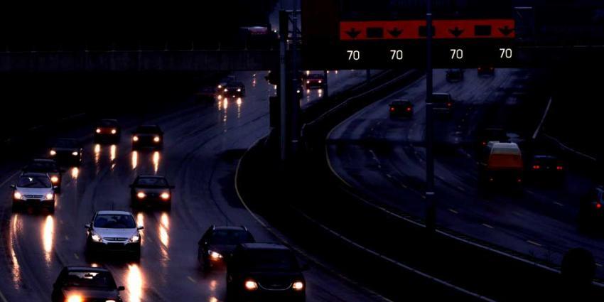 Foto van snelweg donker | Archief EHF
