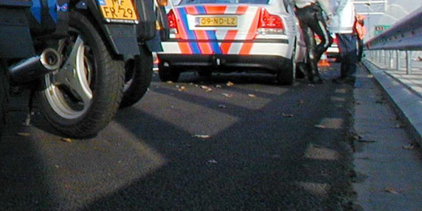 Vier gewonden na fatale botsing met spookrijder op A4