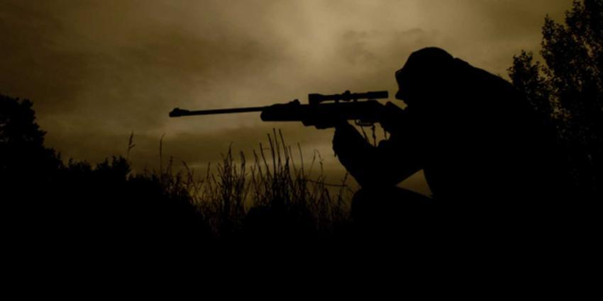 Patrick Lodiers tijdens opnames beschoten door IS