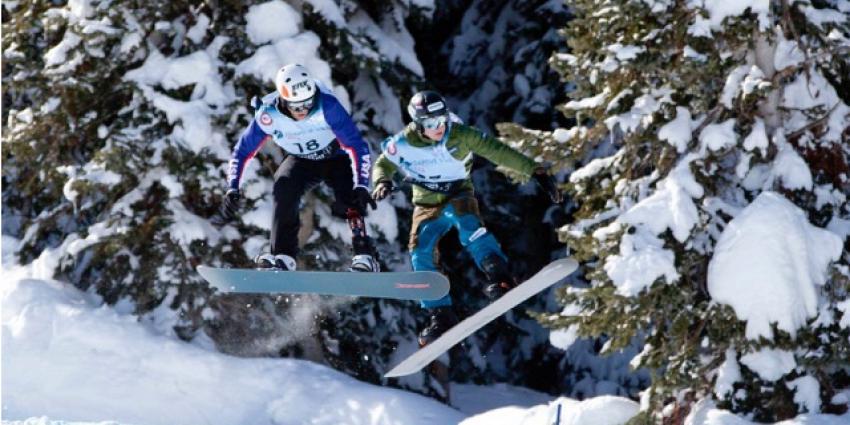 Snowboarder Chris Vos naar huis met 6 medailles