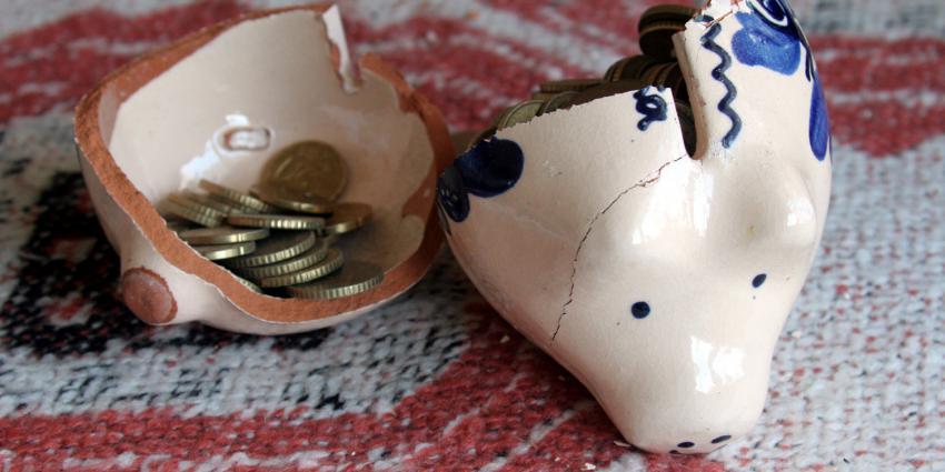 Nibud: 2,5 miljoen huishoudens hebben te weinig geld achter de hand