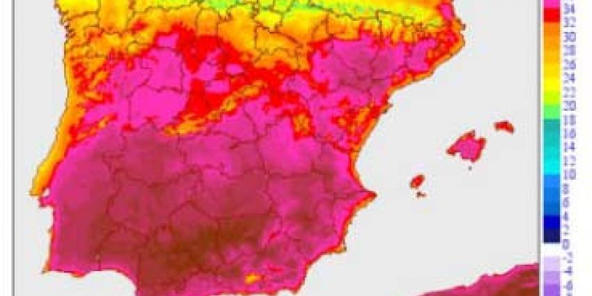 Delen Zuid-Spanje veranderen in woestijn door extreme hitte
