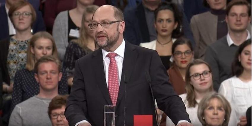 Stemming partijcongres: SPD wil onderhandelen met Merkel