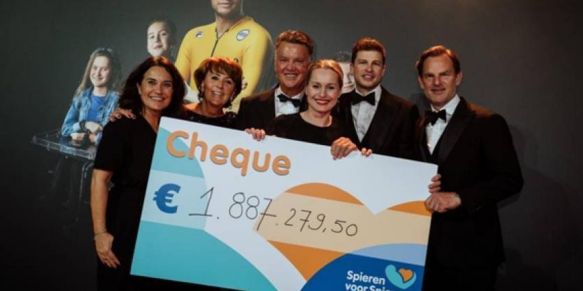 Recordbedrag van ruim 1,8 miljoen euro voor Spieren voor Spieren