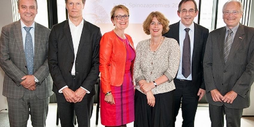 Spinozapremies voor 4 Nederlandse topwetenschappers