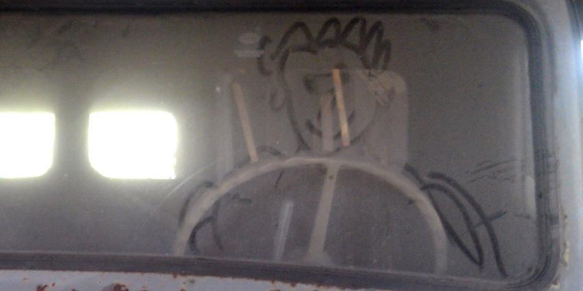 Verdachten die spookrijders klappen op poltieauto op A1