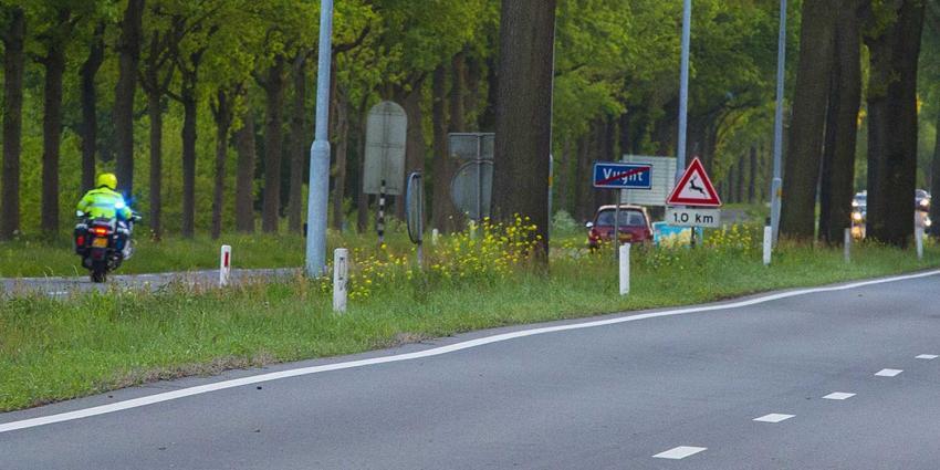 Spookrijder bij ernstig ongeval N65 van de weg geplukt