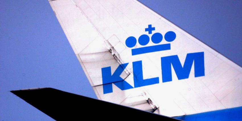 Staart vliegtuig KLM