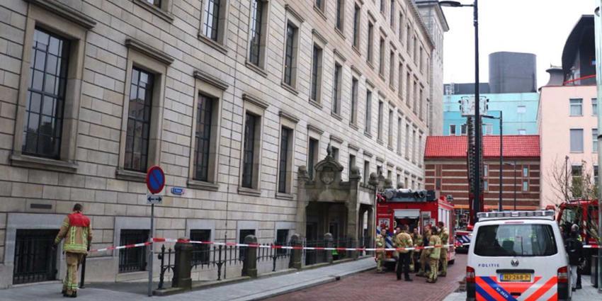 'Brand' in stadhuis blijkt stofwolk